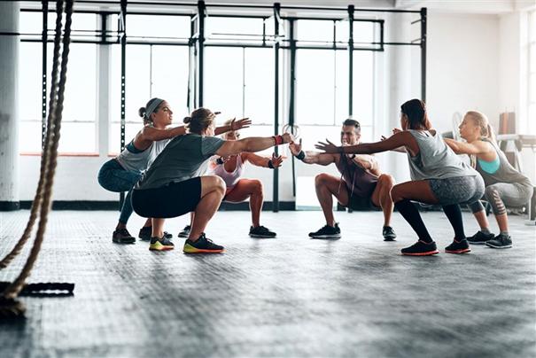Groep lessen fitness